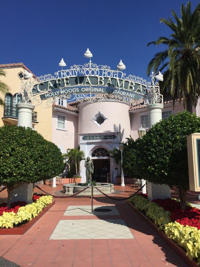Café LaBamba, estudios universales, Orlando, FL fotos de archivo libres de regalías