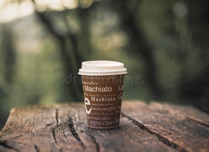 Café a medicina nova do coração fotos de stock
