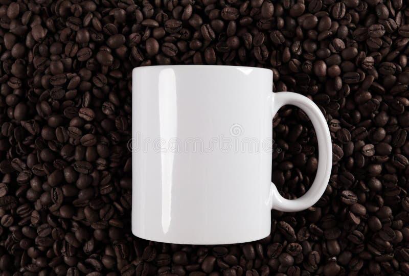 Café mug fotografía de archivo