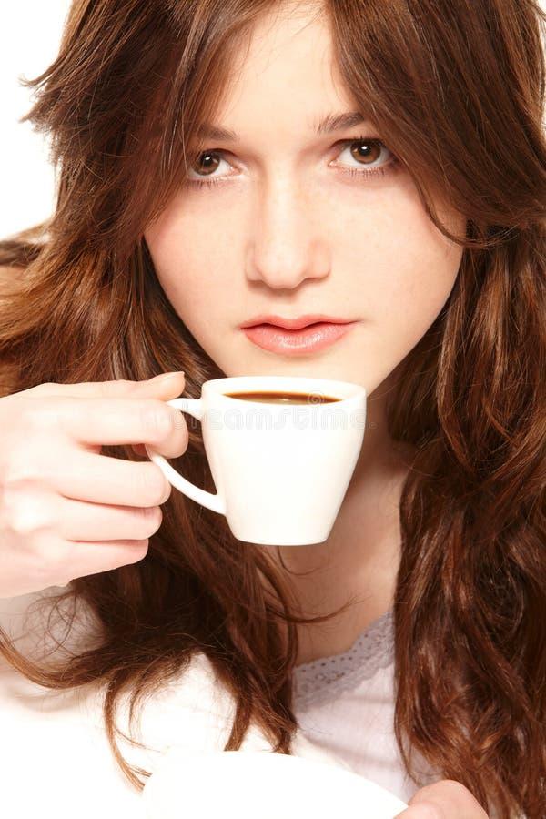 Café na cama fotos de stock royalty free