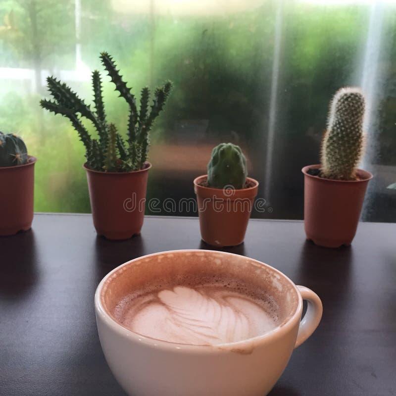 Café na chuva fotos de stock