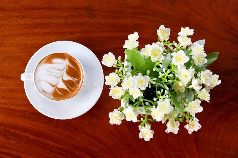 Café na tabela imagem de stock royalty free