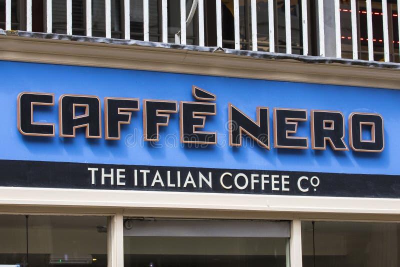 Café Nero imagem de stock royalty free