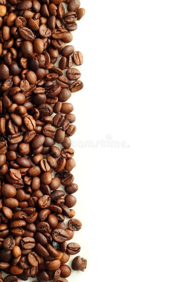 Café no fundo branco fotografia de stock royalty free
