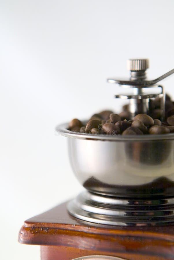 Café no moedor fotos de stock
