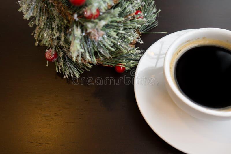 Café noir le jour de célébration photos stock