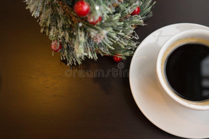 Café noir le jour de célébration photos libres de droits