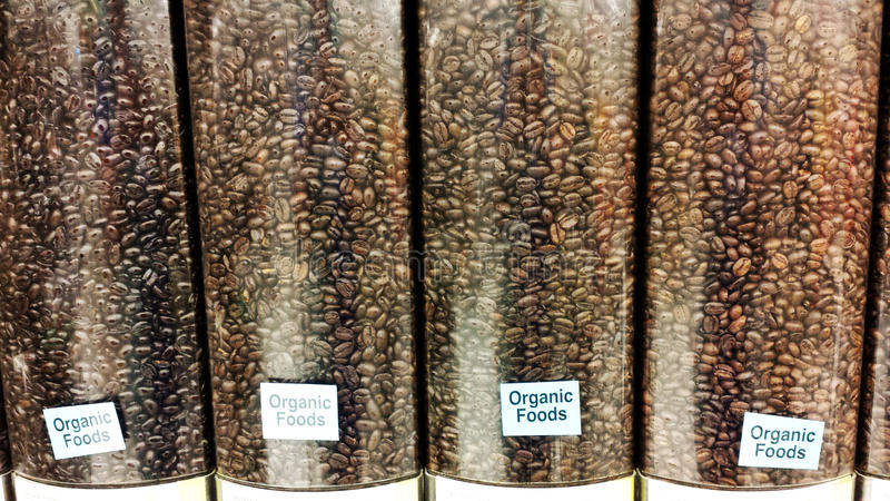 Café organique photos stock