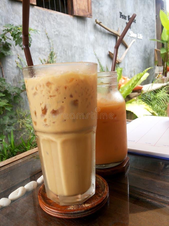 Café ou thé images libres de droits
