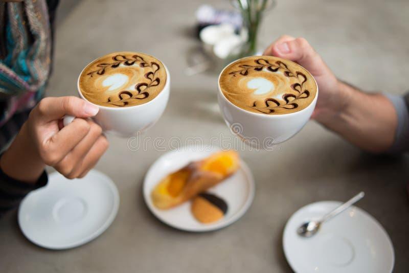 Café para dos imagen de archivo libre de regalías