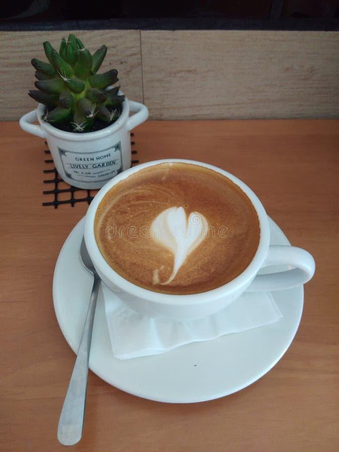 Café para el amor foto de archivo