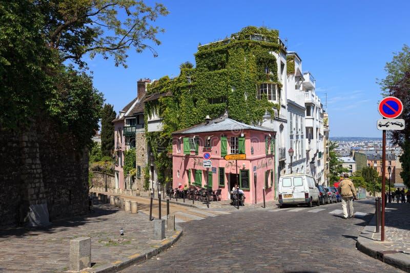 Café parisien images stock