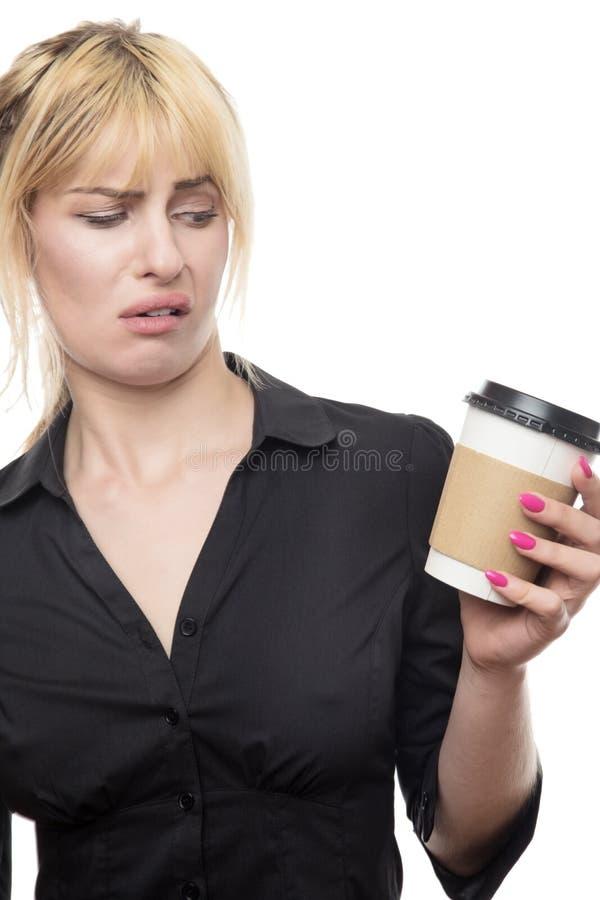 Café pas très bon photos stock