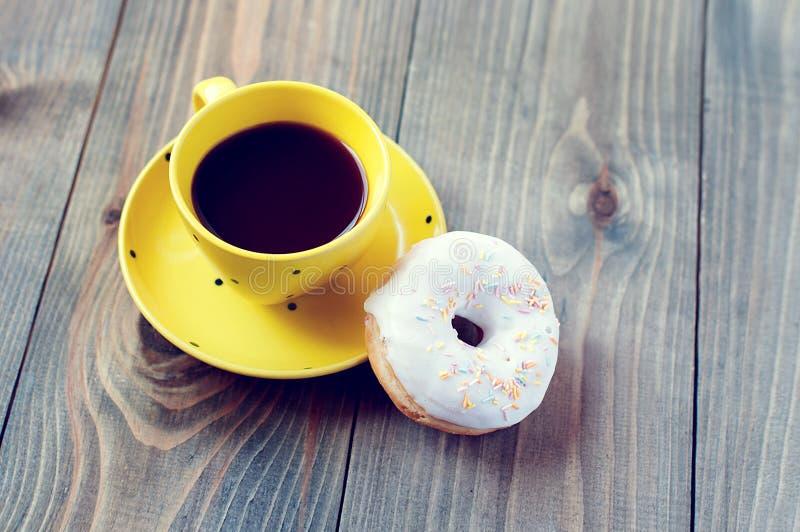 Café pour le petit déjeuner photographie stock libre de droits