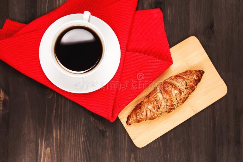 Café pour le petit déjeuner photos stock