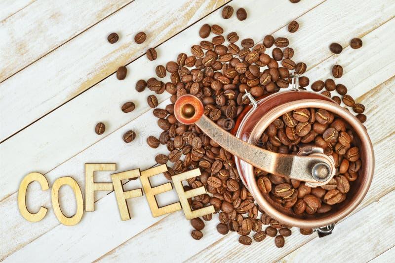 café préparant le concept image libre de droits