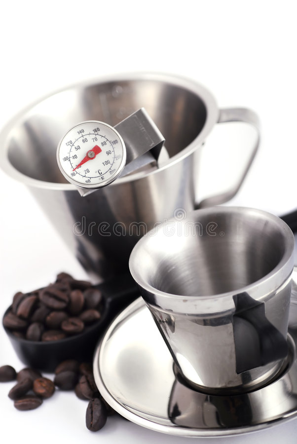 Café que faz ferramentas foto de stock royalty free