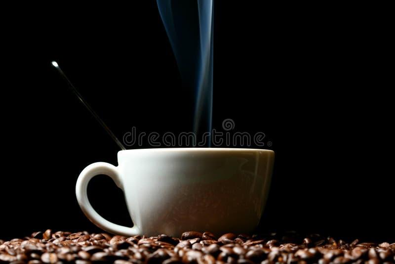 Café quente da manhã fotografia de stock