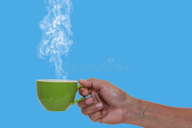 Café quente do conceito foto de stock royalty free