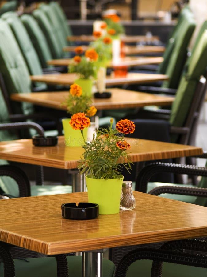 Café-restaurant photos stock
