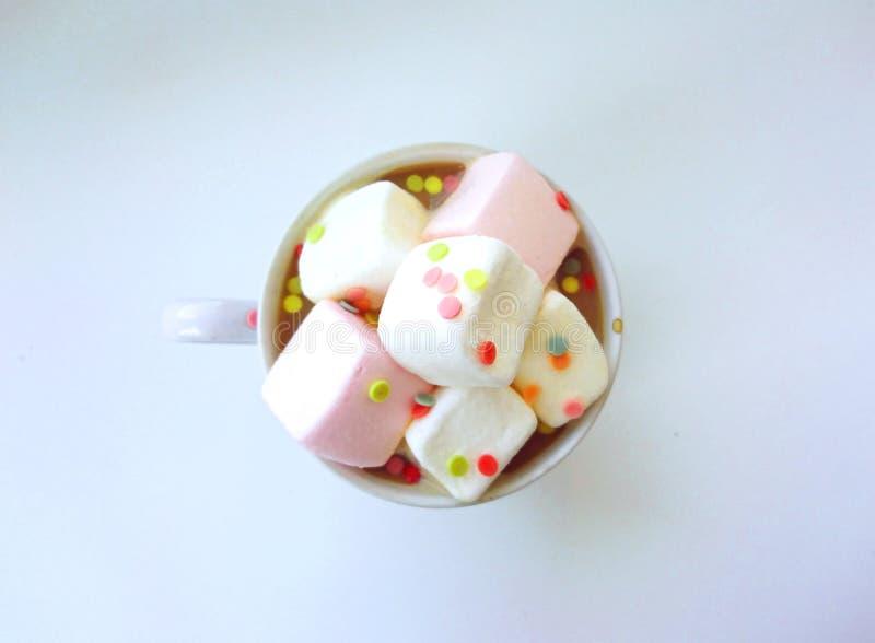 Café rosado fotos de archivo