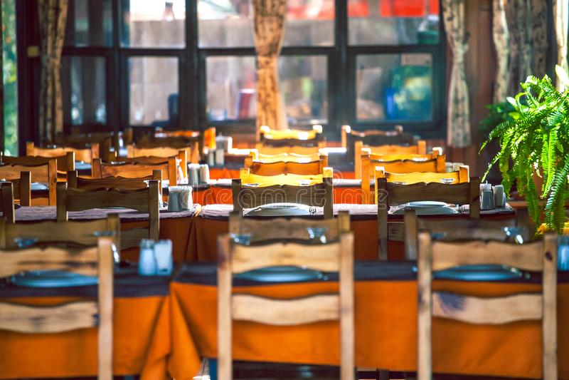 Café rural turc photo stock