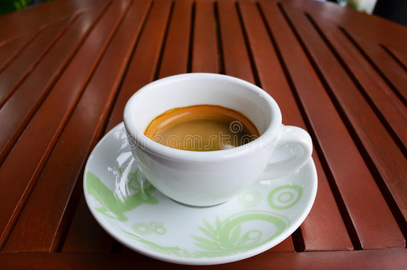 Download Café Sólo En El Vector De Madera Foto de archivo - Imagen de vida, taza: 42442756