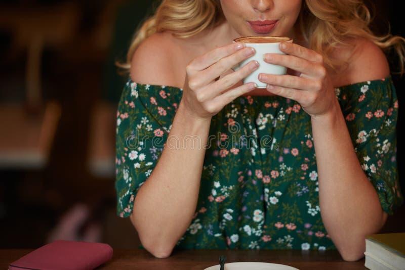 Café sabroso foto de archivo libre de regalías