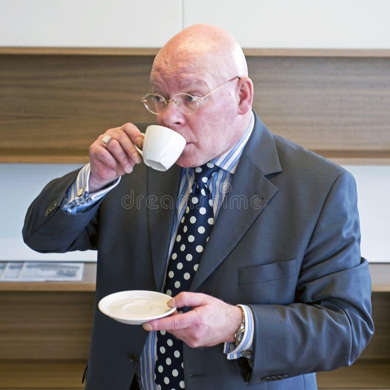 Café sorvendo imagens de stock royalty free