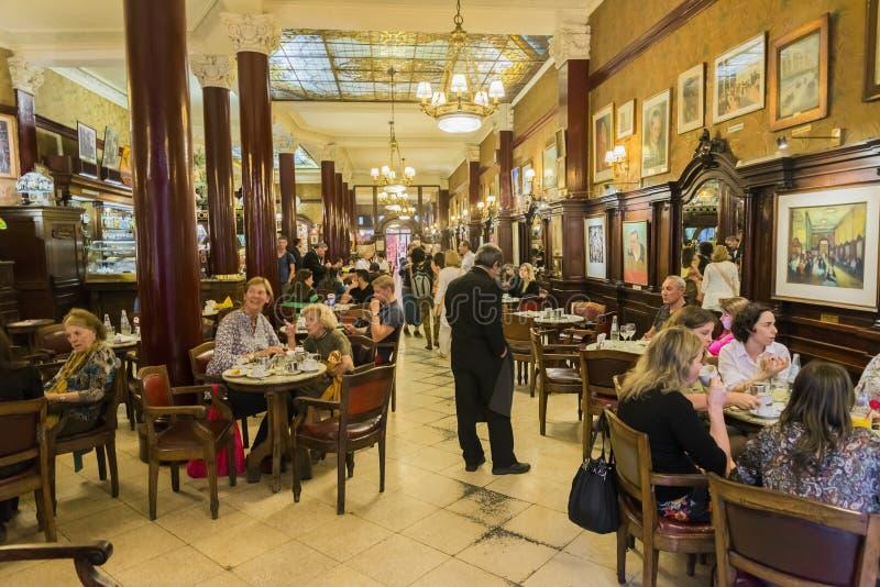 Café Tortoni image stock