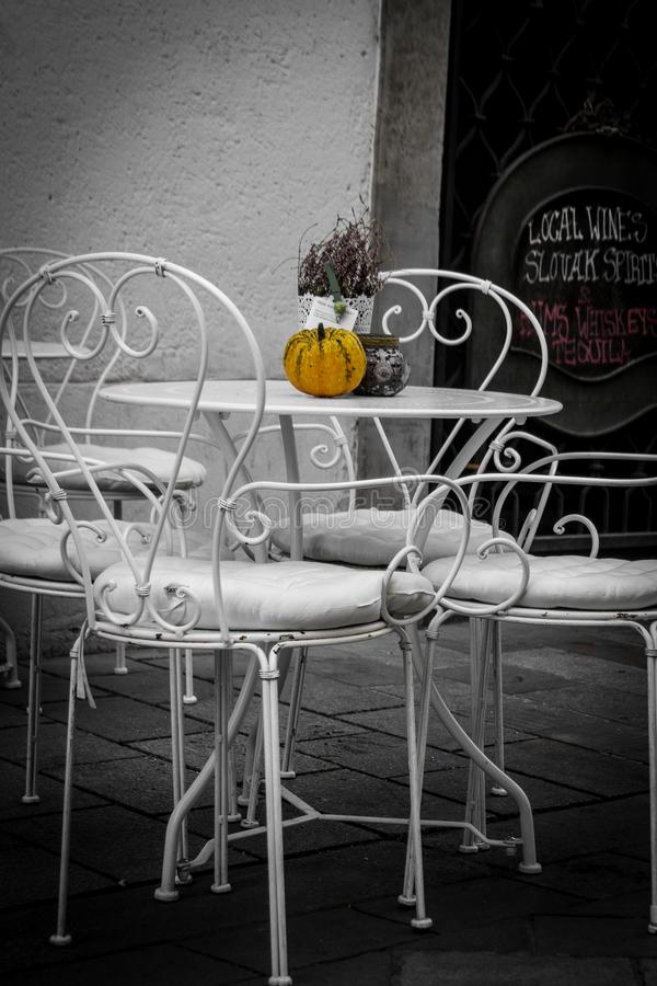 Café tranquille photographie stock libre de droits
