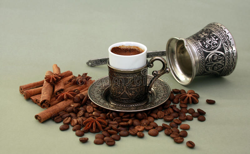 Café turco fotos de stock