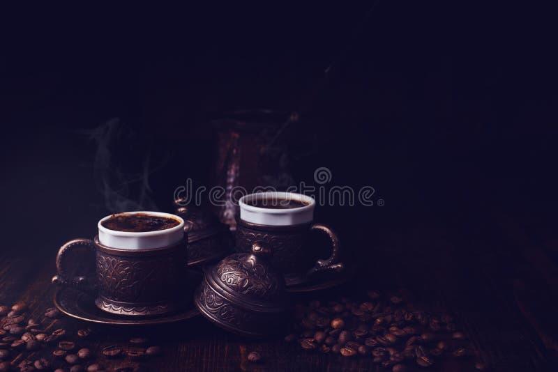 Café turco del estilo imagen de archivo libre de regalías