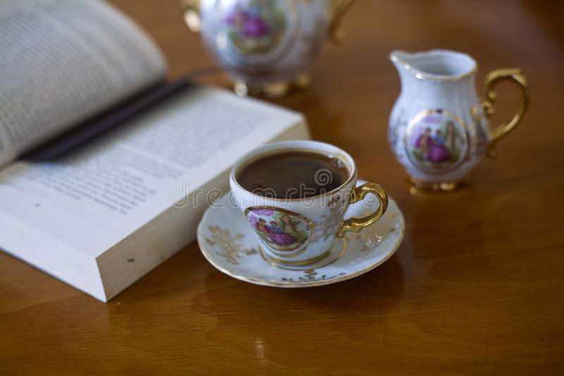 Café turco tradicional foto de stock royalty free