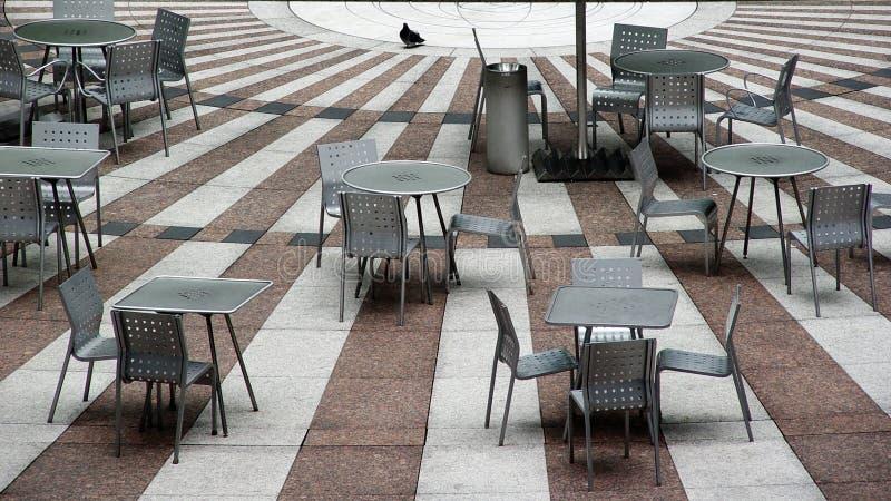 Café Vazio Foto de Stock