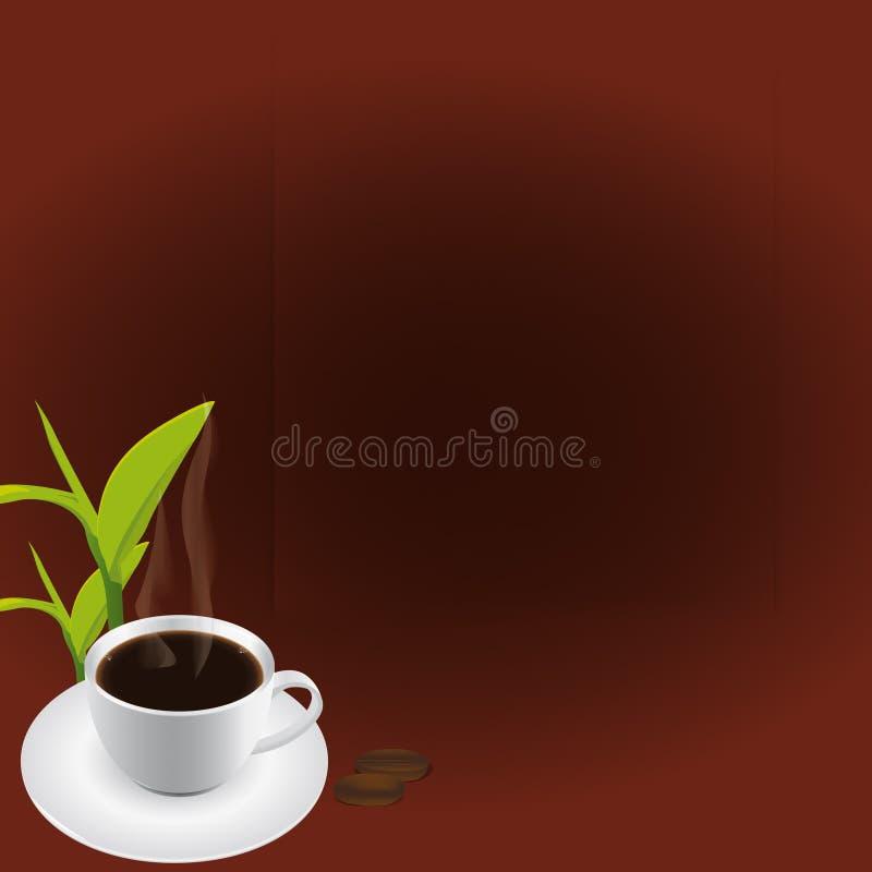 Café (vector) stock de ilustración