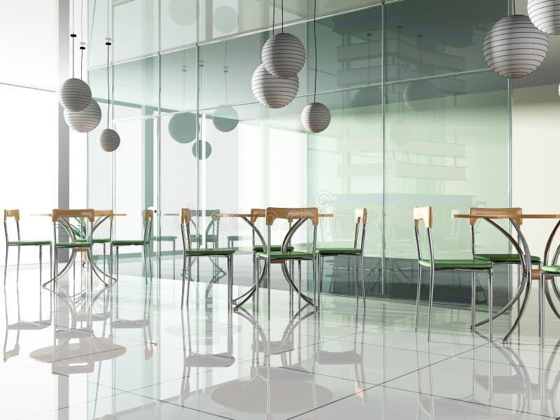 Café vert illustration de vecteur