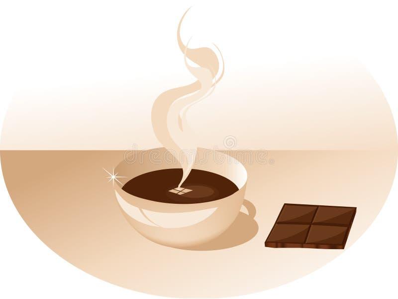 Café y chocolate libre illustration