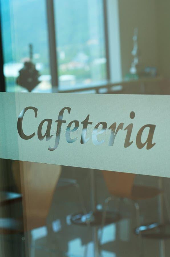 Cafétéria photographie stock libre de droits