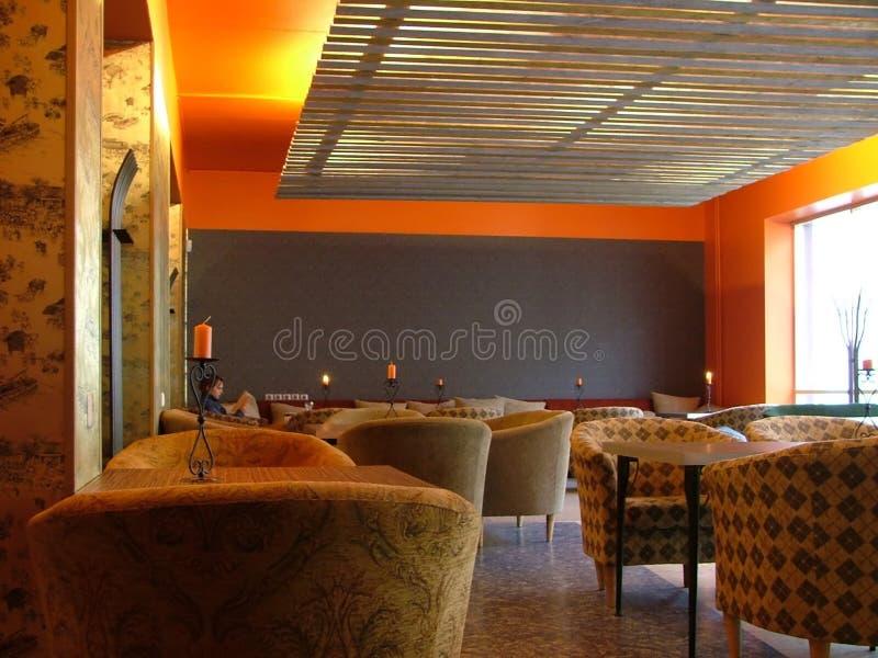 Cafétéria confortable photographie stock libre de droits