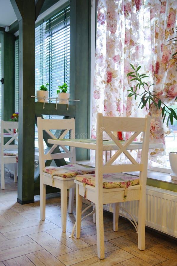 Cafétéria confortable photographie stock