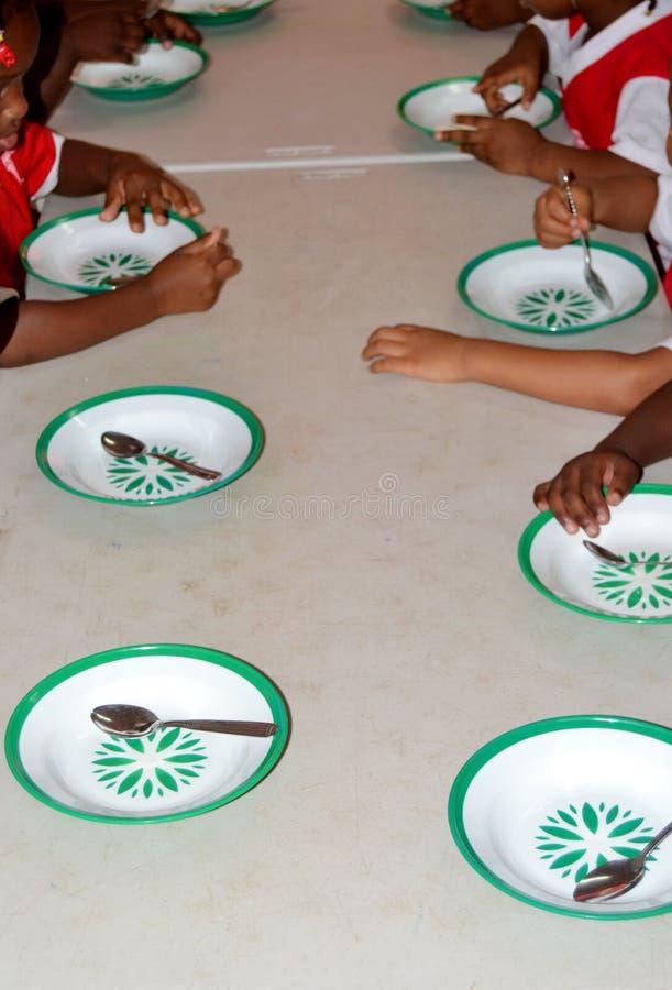 Cafétéria de l'école photo libre de droits