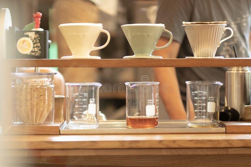 Caf? del goteo foto de archivo