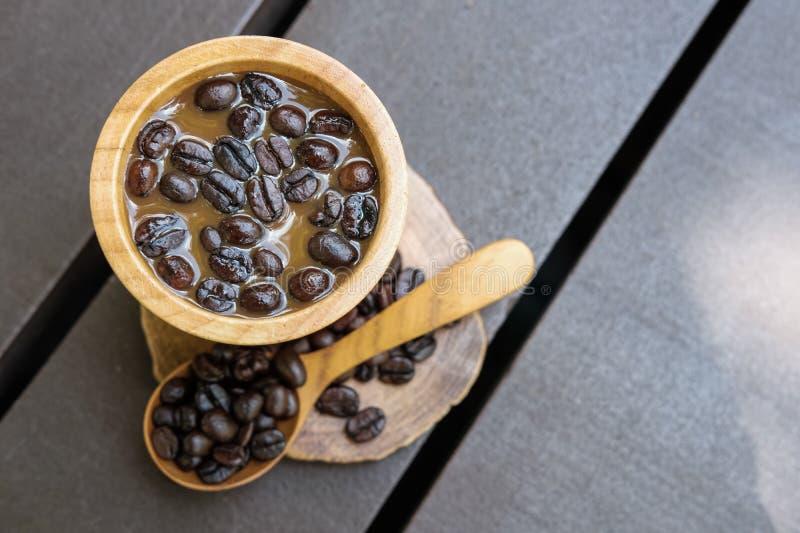 Caf? e feij?es fotos de stock