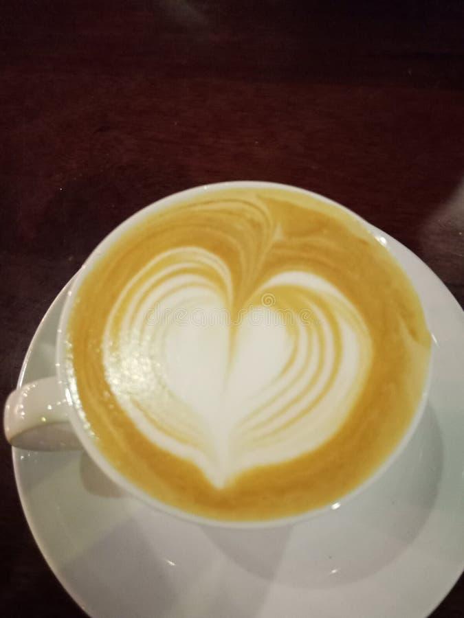 Caf? Loving imagem de stock
