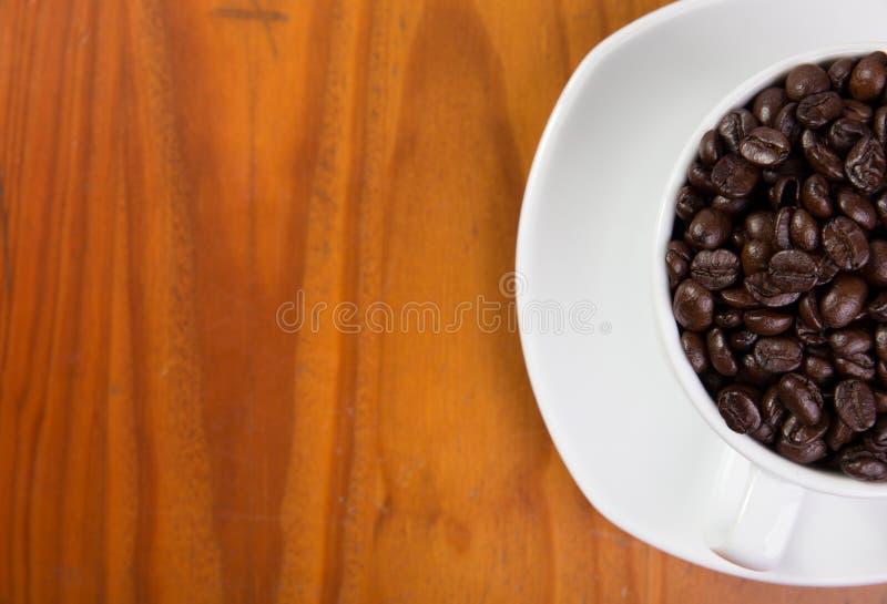 Caf? na tabela fotografia de stock royalty free
