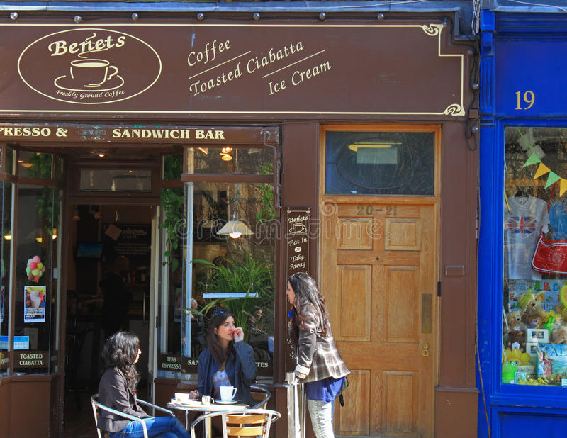 Caf?-restaurant images libres de droits
