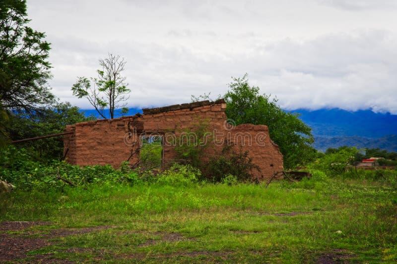 Cafayate-Straßen, Salta, Argentinien lizenzfreie stockbilder