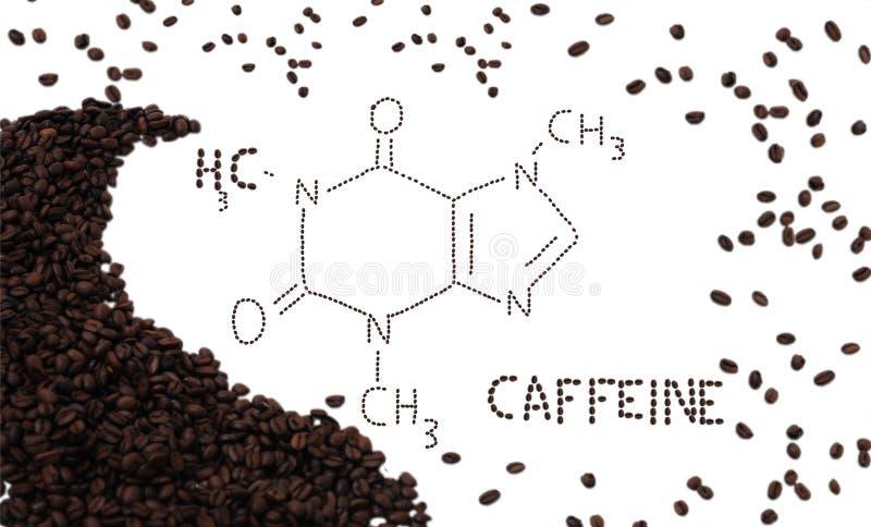 Cafeïne stock fotografie