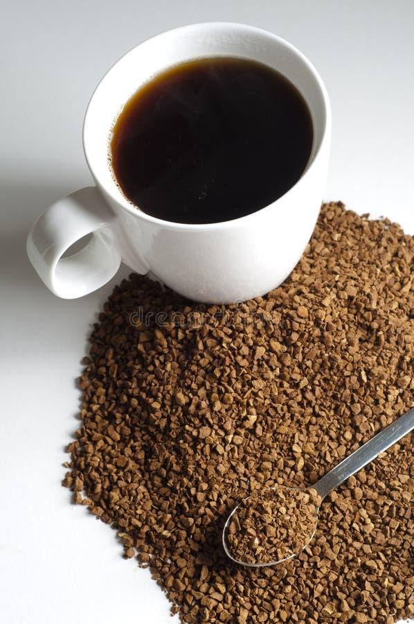 Cafeïnevrij gemaakte koffie stock afbeeldingen
